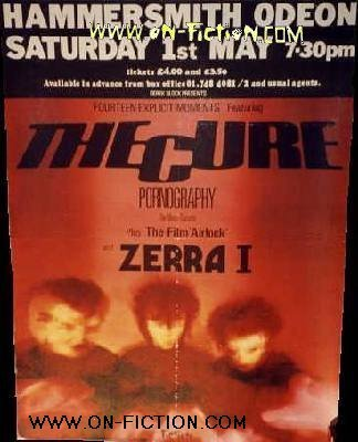 Tour Book The Cure